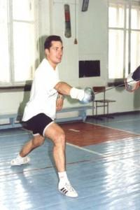 Pozdniakov - Russian sabre fencer