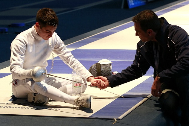 Fencer and Coach
