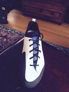 fencing shoe prototype