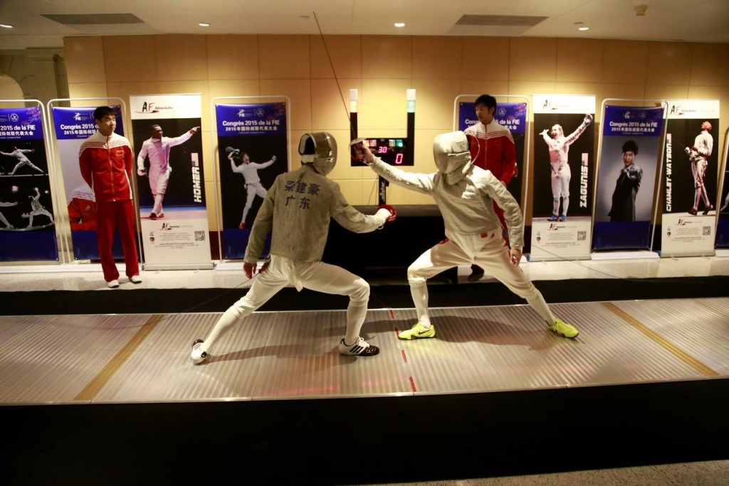 saber fencing rules changes at 2015 FIE Congress