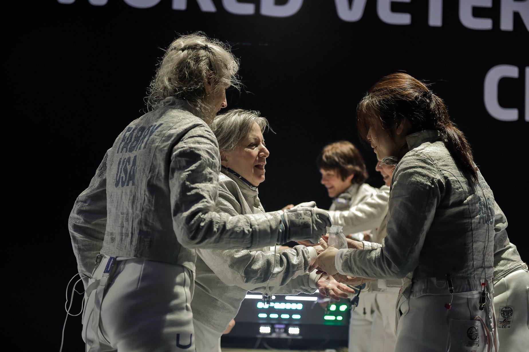 USA Veteran Women's Team Saber